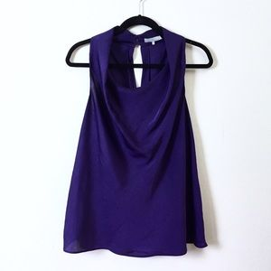 Violet & Claire Tops - Violet & Claire draped sleeveless blouse.