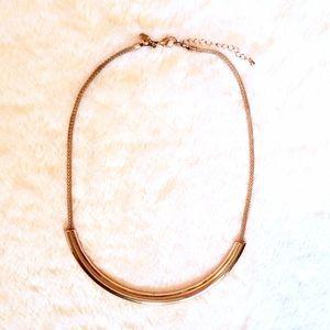 Express Express Rose Gold Bar Necklace from Deborahs closet on