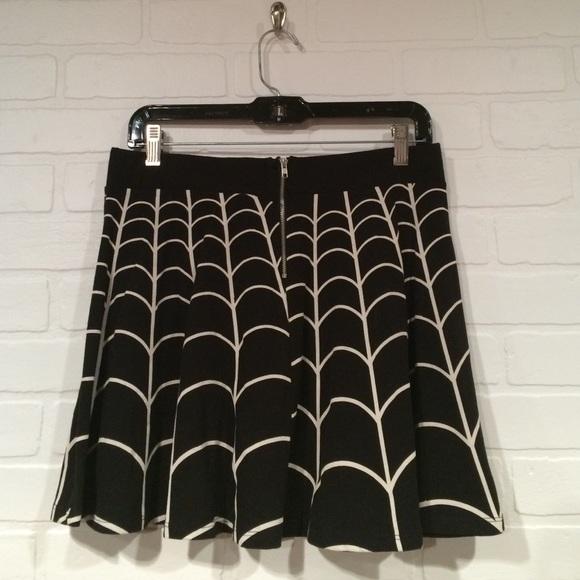 Kreepsville 666 Skirts - Kreepsville 666 Spiderweb Skater Skirt XL