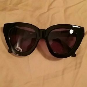 Karen Walker Accessories - Karen Walker Black Anytime Sunglasses