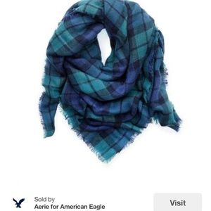 Aerie American Eagle large blanket scarf