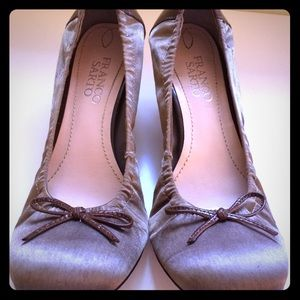Franco Sarto brown Comic pumps sz 6.5