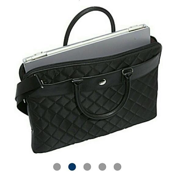 Knomo Bags Nwot London Quilted Laptop Bag Avignon 15