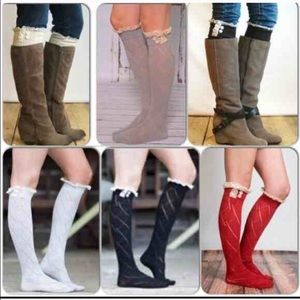Accessories - ⭐️1 DAY SALE!⭐️NWT Lace Trim Boot Socks