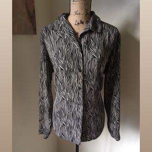 Covington Tops - Covington Woman Dress Blouse
