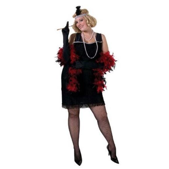 27bbe977b Spirit Halloween Other | Black Flapper Costume Accessories | Poshmark