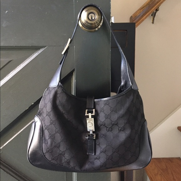 bce96d8e154 Gucci Handbags - Gucci Black Jackie O Bag