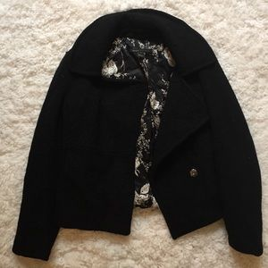 Marc Jacobs Jackets & Blazers - Marc Jacobs black wool cropped  pea coat
