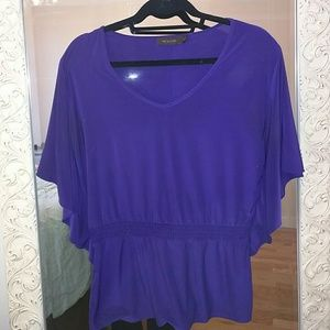 Purple Tunic from The Limited