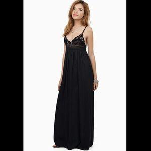 Tobi crochet top maxi dress