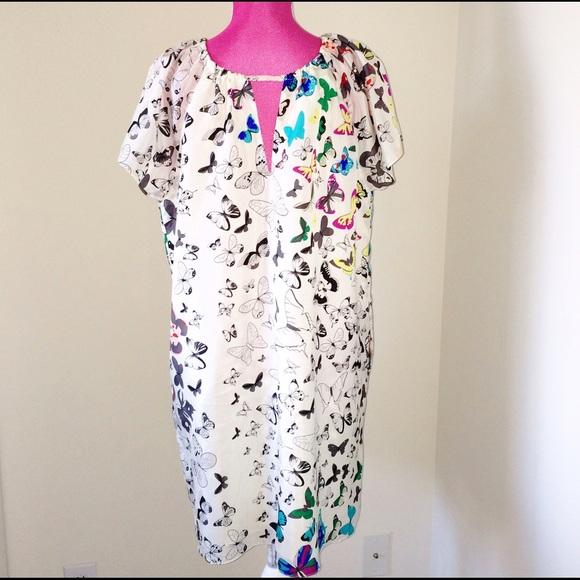 Meghan Fabulous Dresses - Meghan Fabulous Martina Butterfly Dress