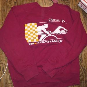 Vintage triathlon sweatshirt- M