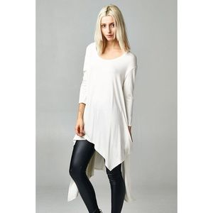 "Bare Anthology Tops - ""Flaunt It"" Asymmetrical Top"