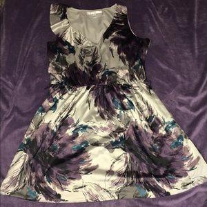 Lauren Conrad Floral burst dress