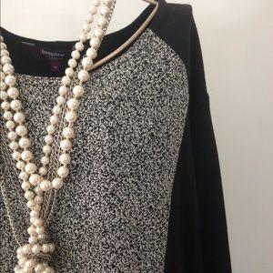 Inspire Dresses & Skirts - Inspire Black & White Sheath Dress
