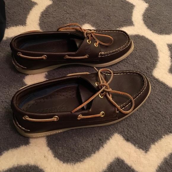 Sperry Shoes - women s dark brown sperrys 9c8620af6