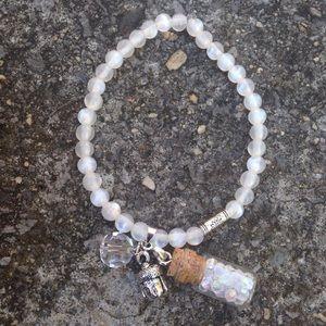 73v3n Jewelry - Crystal Buddha bracelet