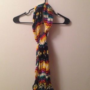 Tribal printed scarf