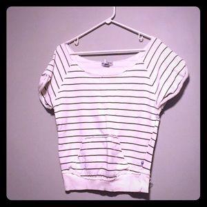 Tops - Comfy Off-The-Shoulder Sweatshirt