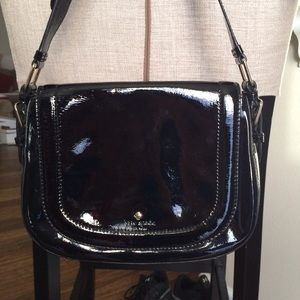 Kate Spade Black Patent Leather Purse