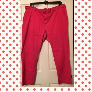 LYS - Coral trousers purchased from Sears
