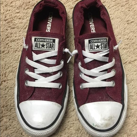 a35f04681005 Converse Shoes - Converse Chuck Taylor Shoreline Maroon size 9