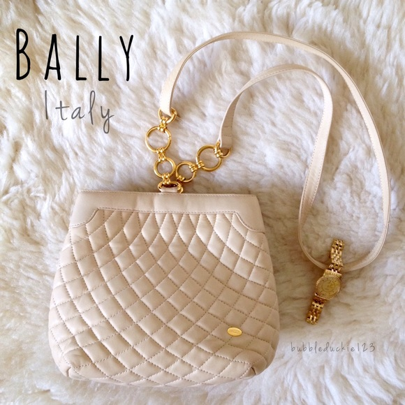 60% off Bally Handbags - ♤️7/29 HP • Diamond quilted purse from ... : bally quilted bag - Adamdwight.com