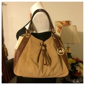 Michael Kors Leather Ludlow Tote