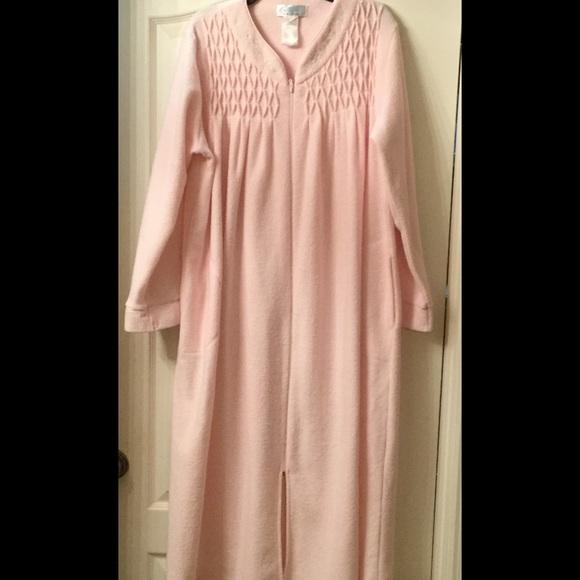 8705153d78b4 Miss Elaine Intimates & Sleepwear | Collette By Long Zip Robe | Poshmark