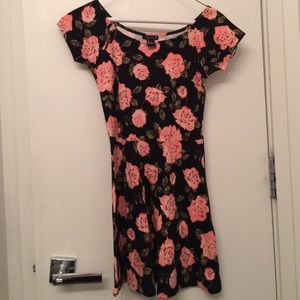 Flirty floral dress from forever 22