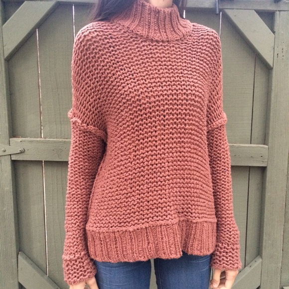 49% off Free People Sweaters - Free people brick chunky knit ...