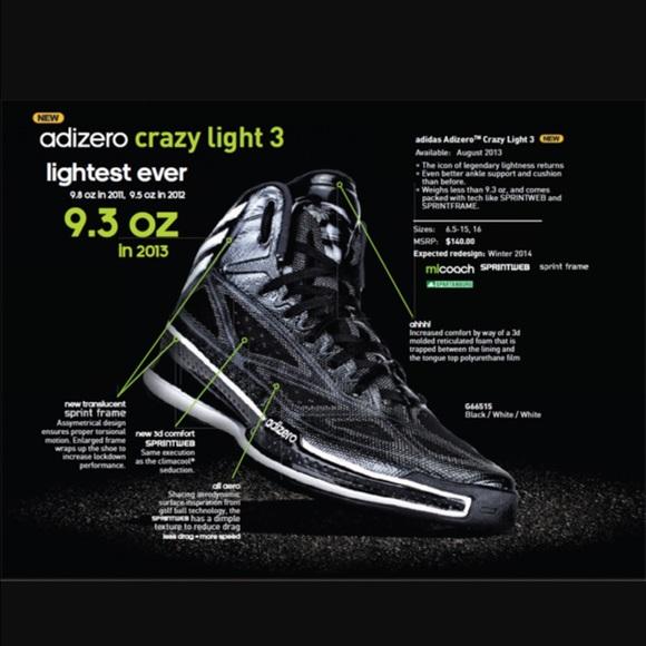adidas crazy 3