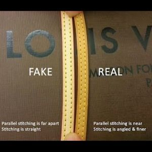 Louis Vuitton Bags How To Authenticate Stitching Poshmark