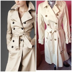BANANA  REPUBLIC CREAM TRENCH 5 NWOT
