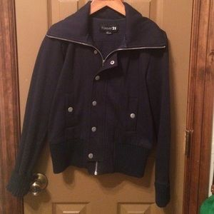 Forever 21 Jackets & Blazers - Navy casual jacket