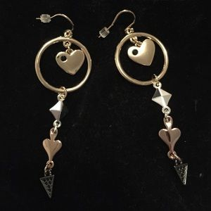 BN Jewelmint mixed metal earrings
