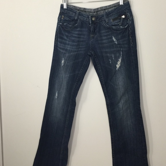 Limited edition re-rock jeans