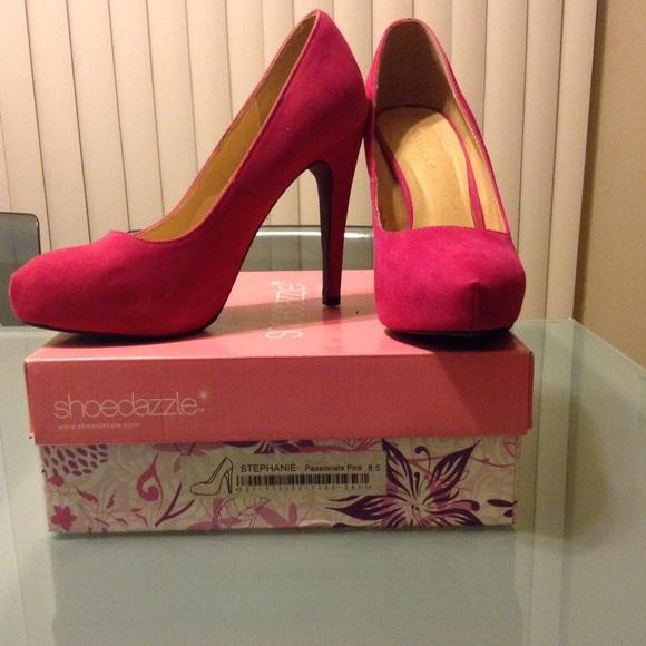 Shoe Dazzle Shoes - Shoe Dazzle Pink Stilettos 👠