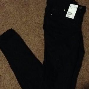 Brand new H&M black skinny jeans