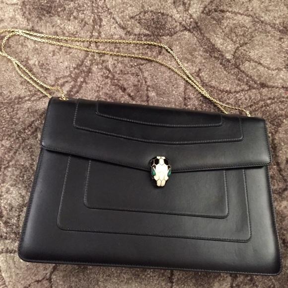 850b3fdc8b00 Bulgari Bags   Bvlgari Classic Baglarge Size   Poshmark