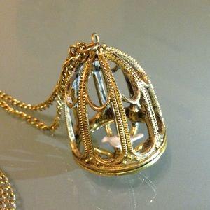 BCBGMaxAzria Jewelry - BCBGMaxAzaria Birdcage Necklace