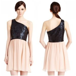 ERIN by Erin Fetherston Dresses & Skirts - 🆕 Erin by Erin Fetherston One Shoulder Foil Dress