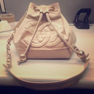 Auth Vintage Chanel Bucket Bag - Priced to sell