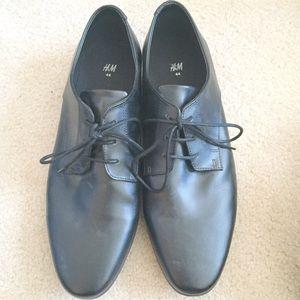H&M Other - NWOT men's black dress shoes