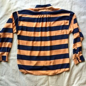 Lumiere Tops - Striped Tunic Blouse Size Large