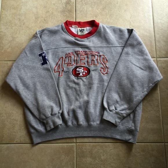 the best attitude e0f56 53125 Vintage San Francisco 49ers Sweater