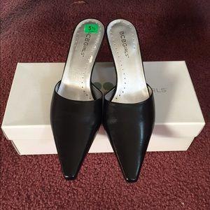 NIB BCBGirls Black Heels