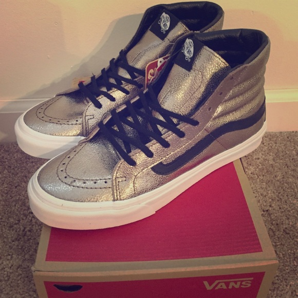 db534d4bfb PRICE REDUCED  Vans Sk8-Hi Slim