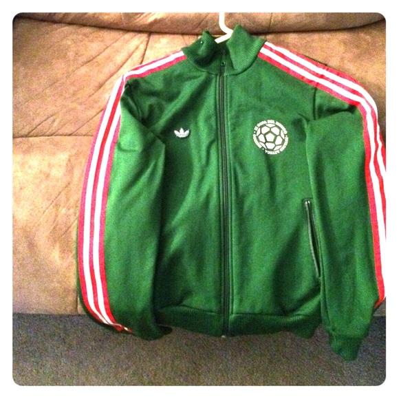 26b8d8676 Adidas Jackets & Coats | Track Jacket Mexico Kids Small | Poshmark