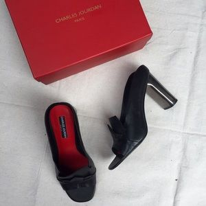 Charles Jourdan Shoes - Charles Jourdan Fae Mules Size 9.5